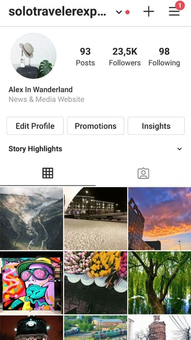 24k Travel Account 2