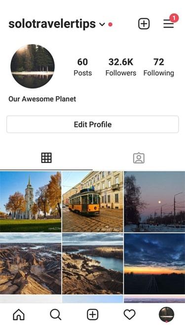 32,6 k Instagram account for sale