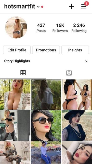 16k Girls Instagram Account 1