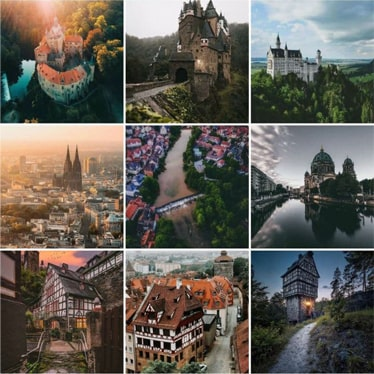 🇩🇪 0.9k Travel Account