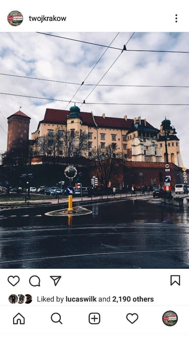 60k Travel Account Krakow 1