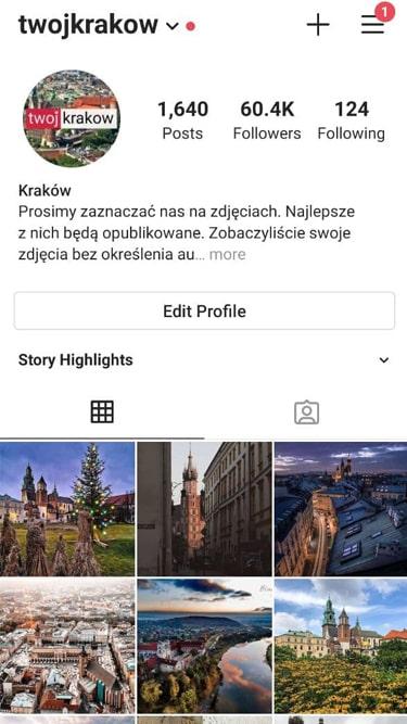 60k Travel Account Krakow 3