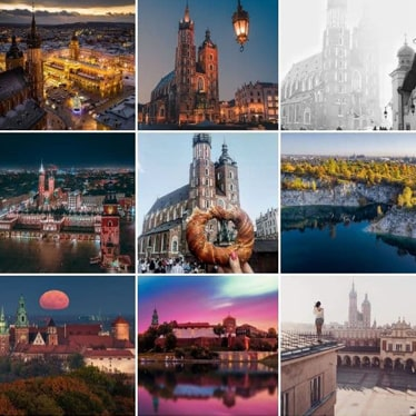 60k Travel Account Krakow